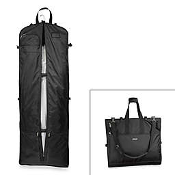 WallyBags® 66-Inch Gown Length DesTination Bag w/ Multi Pockets & Shoulder Strap