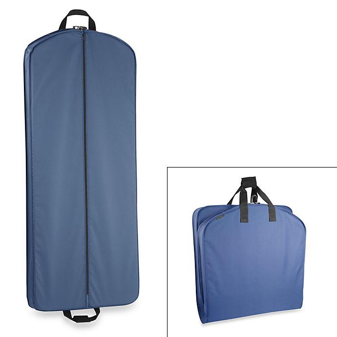 Alternate image 1 for WallyBags® 52-Inch Dress Length Garment Bag in Navy