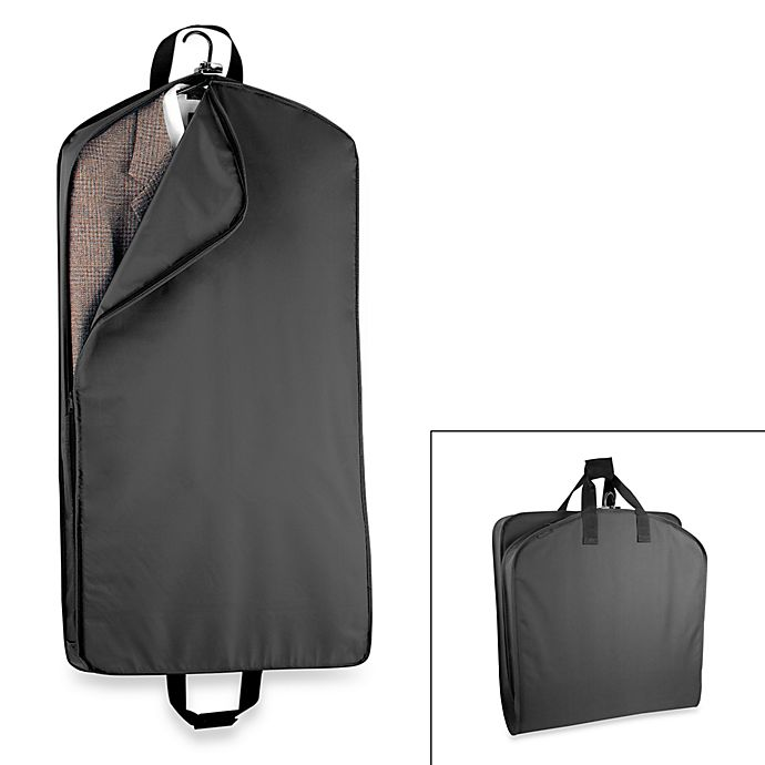 ff74c23a26dc WallyBags® 42-Inch Suit Length Garment Bag in Black