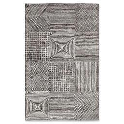 Dynamic Rugs Posh Portals Rug in Dark Grey