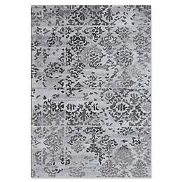 Dynamic Rugs Posh Batik Rug in Grey