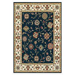 Oriental Weavers Kashan Area Rug in Navy/Ivory