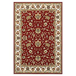 Oriental Weavers Kashan Area Rug in Red/Ivory