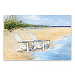 "Artissimo Designs™ ""Water View"" 36-Inch x 24-Inch Canvas Wall Art"