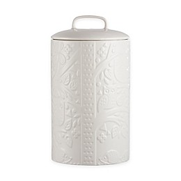 Mason Cash® In the Forest Coffee/Flour Jar in White