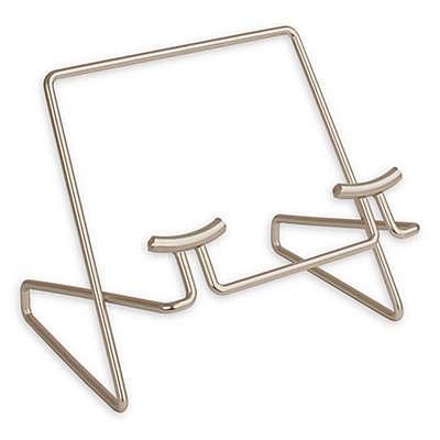 Spectrum Euro Metal Cookbook/Tablet Holder in Satin Nickel