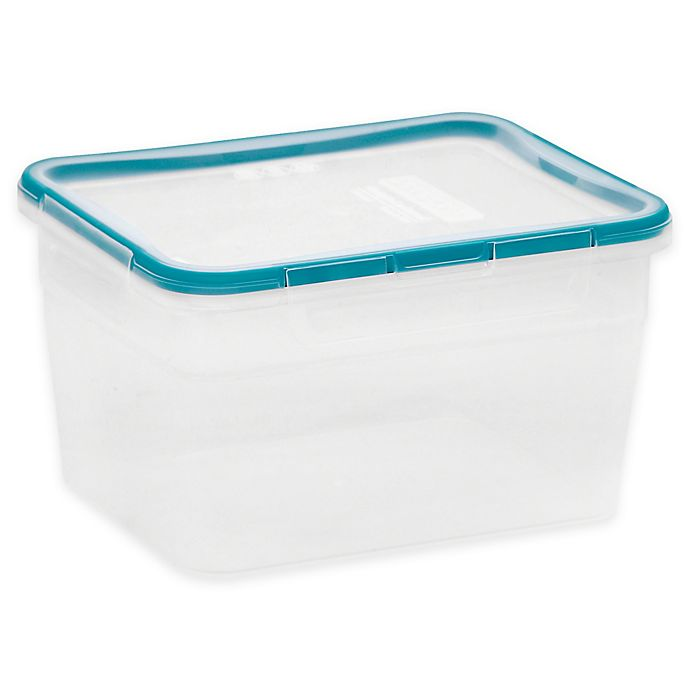 Alternate image 1 for Snapware® Total Solution™ 16-Cup Food Storage Container with Lid in Teal
