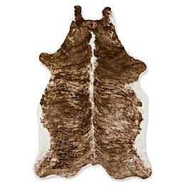Erin Gates Acadia 5'3 X 7'10 Area Rug in Brown