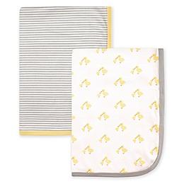 Hudson Baby® 2-Pack Interlock Swaddling Blankets