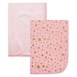 Hudson Baby® 2-Pack Star Swaddle Blankets