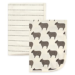 Hudson Baby® 2-Pack Swaddle Blankets