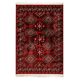 Dynamic Rugs Crown Tabriz Rug in Red