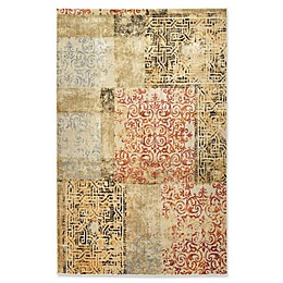 Kaleen Tiziano Patchwork Multicolor Rug