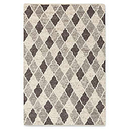 Surya Nico Geometric Area Rug in Charcoal/Black