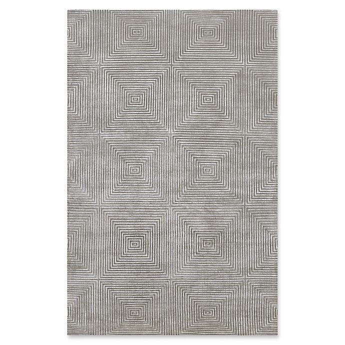 Alternate image 1 for Surya Luminous Geometric Rug in Medium Grey