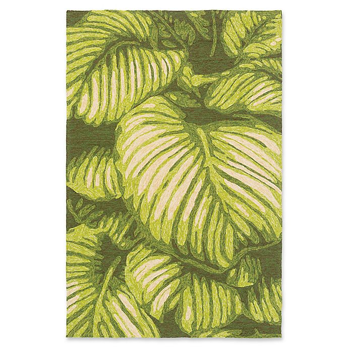 Alternate image 1 for Surya Rain Floral 3' x 5' Area Rug in Lime