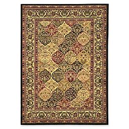Linon Home Tabriz Elegance Loomed Area Rug in Multi