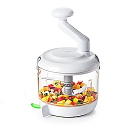 OXO Good Grips® One Stop Chop Manual Food Processor in White/Green