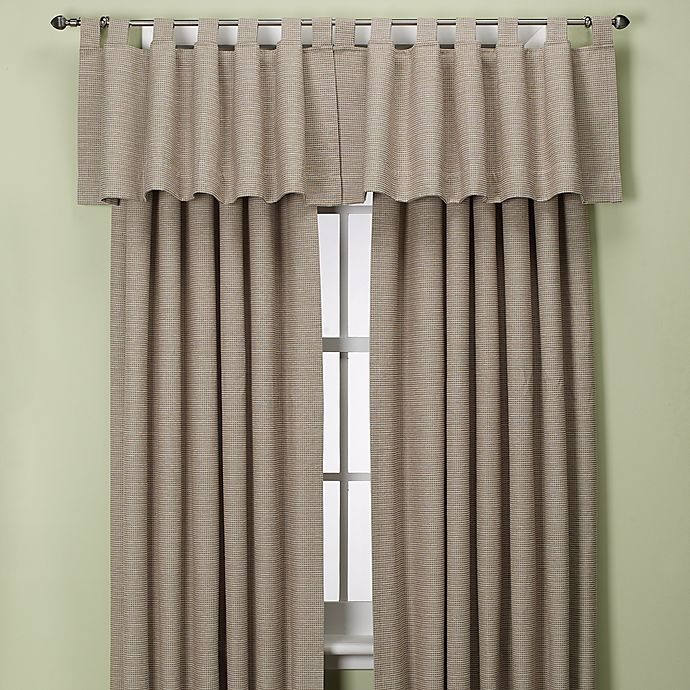 Alternate image 1 for Union Square Tab Top Window Curtain Panel