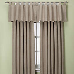 Union Square Tab Top Window Curtain Panel and Valance