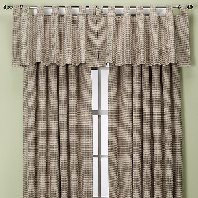 Alternate image 1 for Union Square Rod Pocket/Back Tab Window Curtain Panel