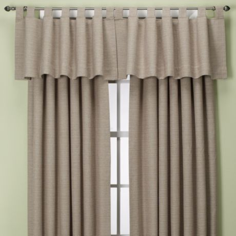 Union Square Rod Pocket Back Tab Window Curtain Panel