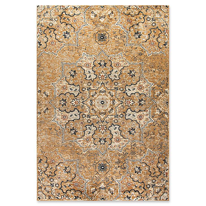 Alternate image 1 for Dynamic Rugs Evolution Medallion 3'11 x 5'7 Area Rug in Tan