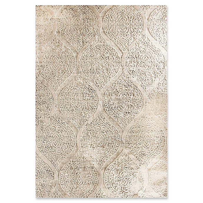 Alternate image 1 for Dynamic Rugs Quartz Warrenton 6'7 x 9'6 Area Rug in Ivory