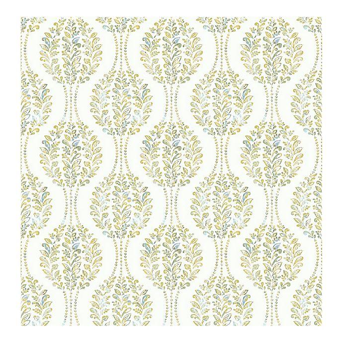 Alternate image 1 for A-Street Prints Versailles Botanical Geometric Wallpaper in Green