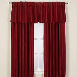 Reina Rod Pocket/Back Tab Window Curtain Panel and Valance