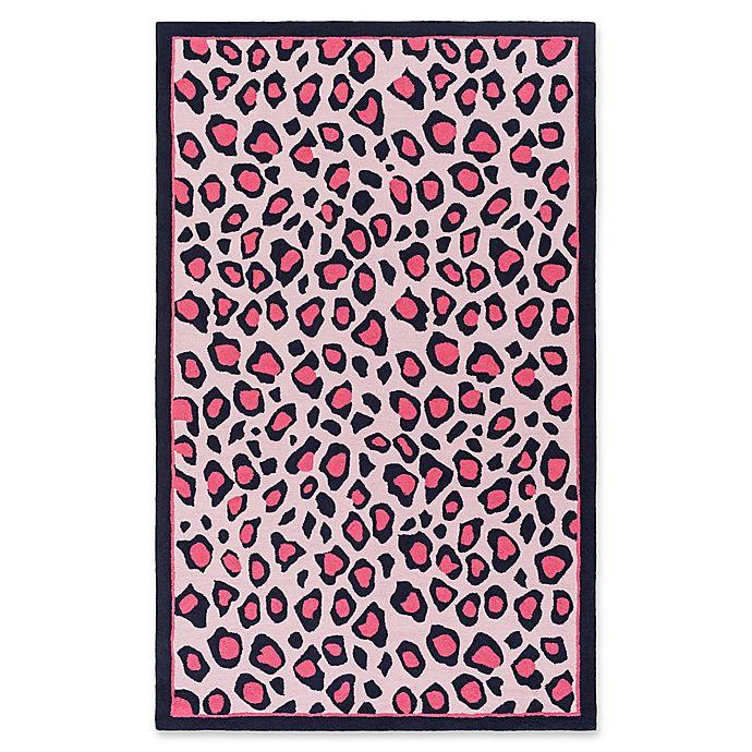 Alternate image 1 for Surya Peek-A-Boo Animal Print 5' x 7'6 Area Rug in Blush/Bright Pink
