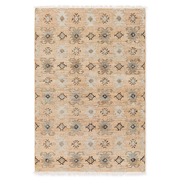 Alternate image 1 for Surya Lenora Global Jute 8' x 10' Area Rug in Sage/Black