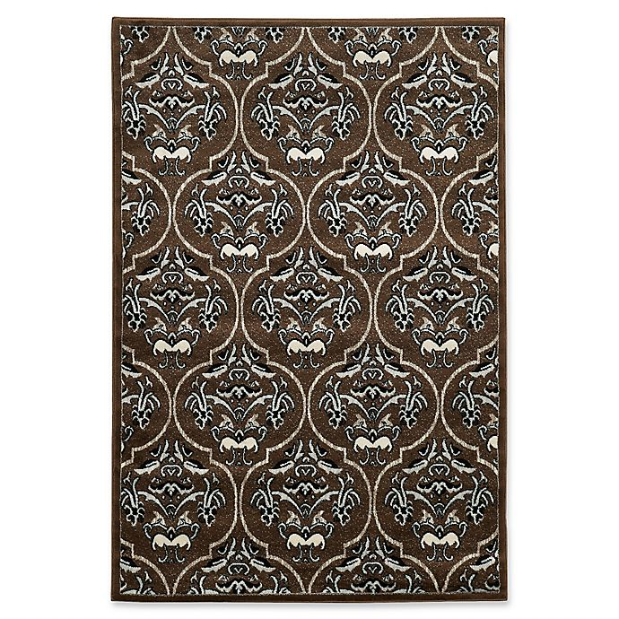 Alternate image 1 for Linon Home Elegance England 8' x 10' Area Rug in Brown