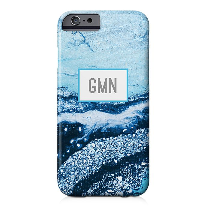 Alternate image 1 for Designs Direct Blue Marble iPhone® 6/6S Case