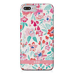 Designs Direct Coral Patchy Flowers iPhone® 8 Plus Case