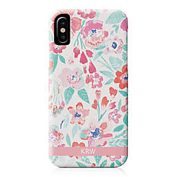 Designs Direct Coral Patchy Flowers iPhone® Case