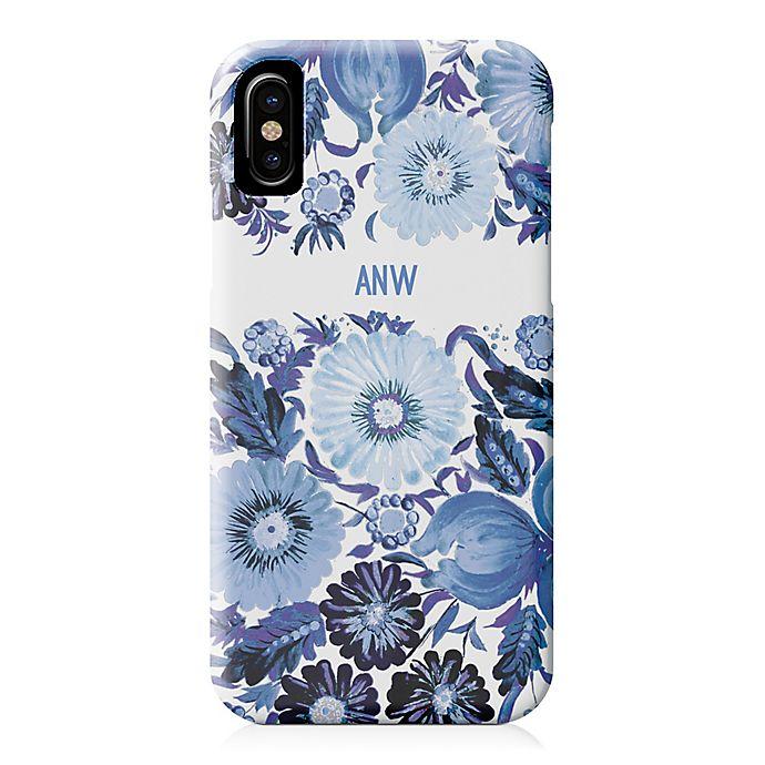Alternate image 1 for Designs Direct Blue Florals iPhone® Case