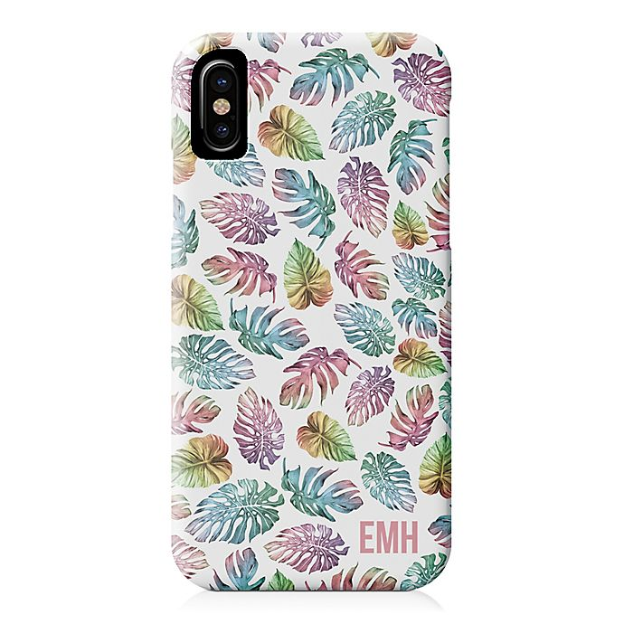 Alternate image 1 for Designs Direct Colorful Palms iPhone® X Case