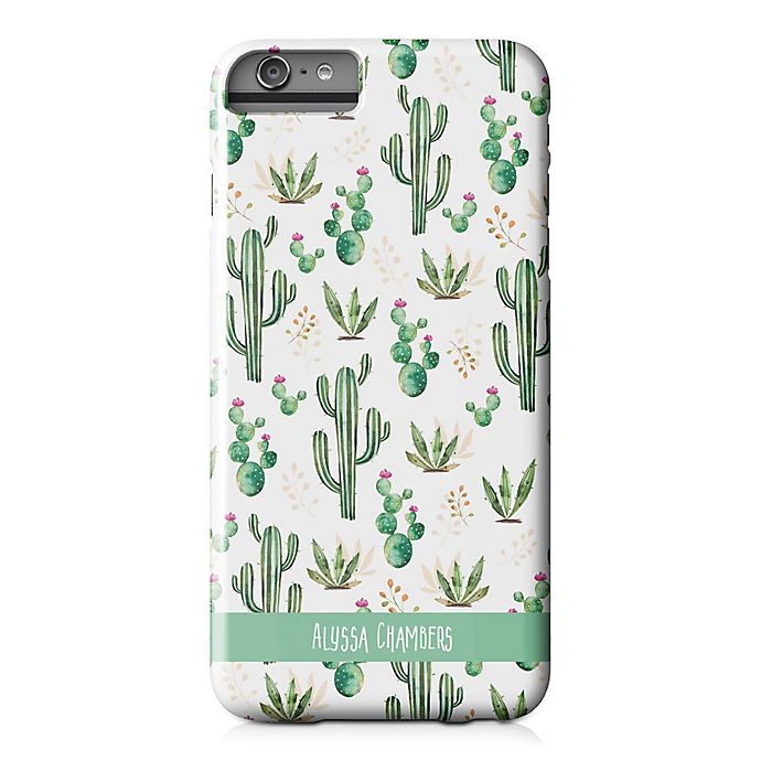 Alternate image 1 for Designs Direct Prickly Pattern iPhone® 6 Plus Case