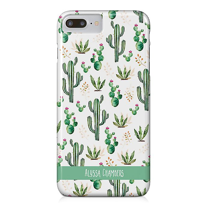 Alternate image 1 for Designs Direct Prickly Pattern iPhone® 8 Plus Case