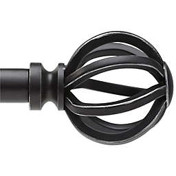 Umbra® Gazebo Black Decorative Window Hardware