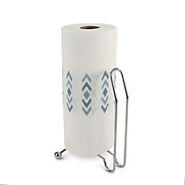 Spectrum Pantry Works™ Metal Paper Towel Holder in Chrome