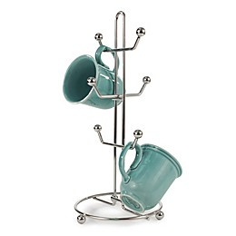 Spectrum Pantry Works™ Metal 6-Mug Holder in Chrome