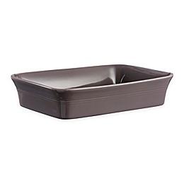 Mason Cash® Classic Kitchen 12.25-Inch Rectangular Baking Dish in Dark Grey
