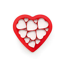 Lékué Silicone Puzzle Heart Cookie Cutter