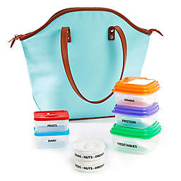 Fit & Fresh® Women's 14-Piece Smart Portion Set in Aqua