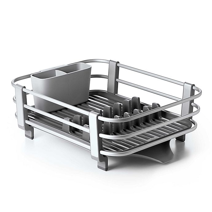 Alternate image 1 for OXO Good Grips® Aluminum Dish Rack