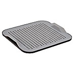 Better Housewares 2-Piece Silicone Drying Mat Set in Grey/Black