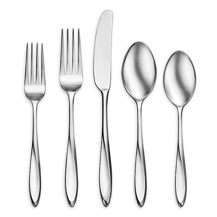 Alternate image 1 for Oneida® Lunette 5-Piece Flatware Place Setting