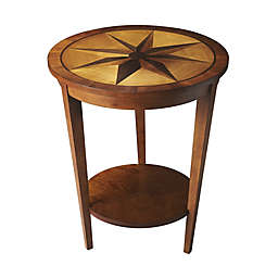 Butler Serenade Nutmeg Accent Table in Light Brown